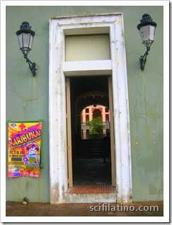 North entrance to Ballajá