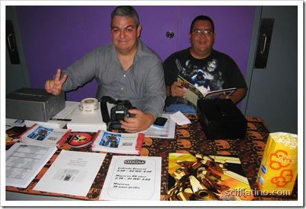 Carlos Torres and Emilio Torres of Paquines.com, event organizers